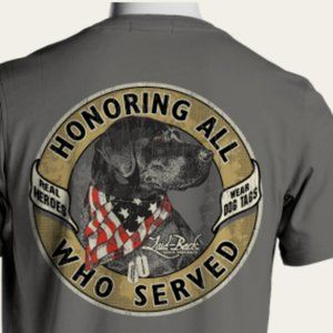 Comfort Colors Veteran Military Preshrunk T-Shirt